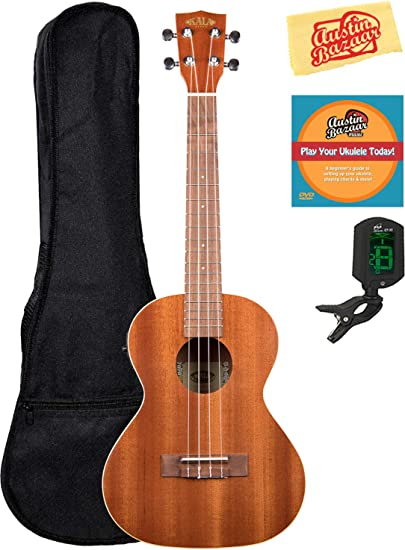 Kala KA-TE Mahogany Tenor Acoustic-Electric Ukulele