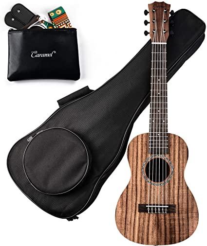 Caramel - 30-inch 6 String Acacia KOA Guitalele