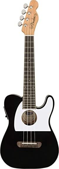 Fender Fullerton Telecaster Ukulele (Black)
