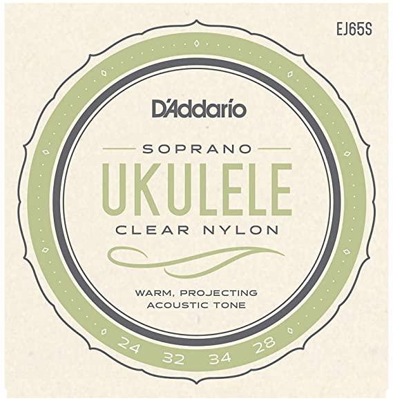 D'Addario EJ65S Nylon Ukulele Strings