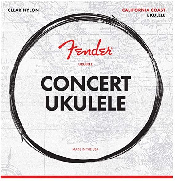 Fender 90C Concert Ukulele Strings (Set of 4)